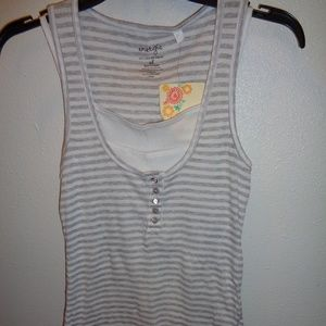 NWT Juniors Energie Layered Tank Top Size XL
